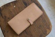 ヌメ革の長財布のキャンペーンです。