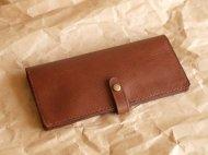 牛革の長財布 001