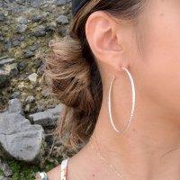 SILVER925 Big Hoop  Pierced Earring ビッグフープピアス