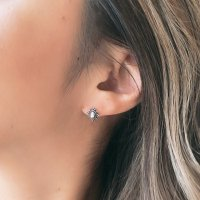 <img class='new_mark_img1' src='https://img.shop-pro.jp/img/new/icons14.gif' style='border:none;display:inline;margin:0px;padding:0px;width:auto;' />Oval Stads Silver925 Pierced Earring オーバルスタッズ ボヘミアン風 シルバー925ピアス