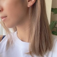 <img class='new_mark_img1' src='https://img.shop-pro.jp/img/new/icons14.gif' style='border:none;display:inline;margin:0px;padding:0px;width:auto;' />Chain Silver925 Pierced Earring デザインチェーン silver925ピアス