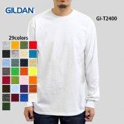 6.0oz ウルトラコットン 長袖Tシャツ(GILDAN/ギルダン)[T2400]