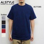 6.0oz ショートスリーブ ポケットTシャツ(ALSTYLE APPAREL/アルスタイルアパレル)[T1305]