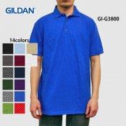 6.5oz ウルトラコットン カノコ ポロシャツ(GILDAN/ギルダン)[G3800]