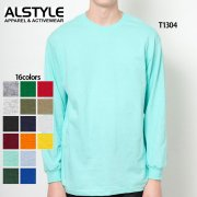 6.0oz ロングスリーブ Tシャツ(ALSTYLE APPAREL/アルスタイルアパレル)[T1304]
