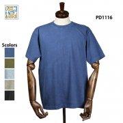 6.2oz オープンエンド マックスウェイト ピグメントTシャツ(CROSS&STITCH/クロス&ステッチ)[PD1116]