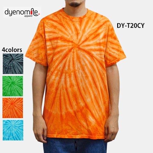 タイダイ Tシャツ/サイクロン(DYENOMIT...