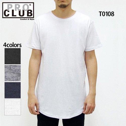 4.3oz カーブ トール Tシャツ(PRO CLUB...