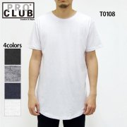 <img class='new_mark_img1' src='//img.shop-pro.jp/img/new/icons5.gif' style='border:none;display:inline;margin:0px;padding:0px;width:auto;' />4.3oz カーブ トール Tシャツ(PRO CLUB/プロ・クラブ)