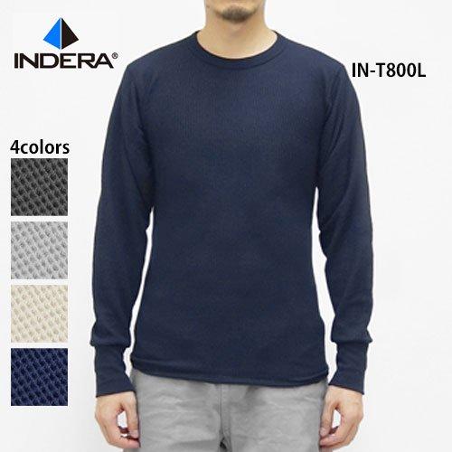 5.0oz サーマル長袖Tシャツ(INDERA/イ...