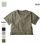 《レディース》6.2oz オープンエンド マックスウェイト ウィメンズ オーバーTシャツ(CROSS&STITCH/クロス&ステッチ)[OE1301]