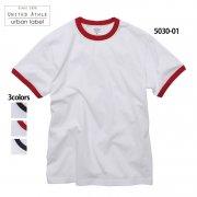 5.6oz リンガー Tシャツ(United Athle urban label/ユナイテッドアスレ)[5030-01]