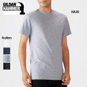 6.1oz ハンマー ポケットTシャツ(ジャパンフィット)(GILDAN/ギルダン)[HA30]