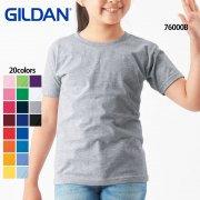 《キッズ》5.3oz プレミアムコットン ユースTシャツ(ジャパンフィット)(GILDAN/ギルダン)[76000B]