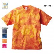 6.2oz オープンエンド タイダイTシャツ(CROSS&STITCH/クロス&ステッチ)[TDT-148]