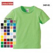 《キッズ》5.0oz レギュラーフィットTシャツ(United Athle/ユナイテッドアスレ)[5401-02]