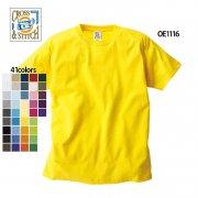 《キッズサイズから展開》6.2oz オープンエンド マックスウェイト 無地Tシャツ(CROSS&STITCH/クロス&ステッチ)[OE1116]