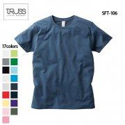 4.3oz スリムフィット 無地Tシャツ(TRUSS/トラス)[SFT-106]