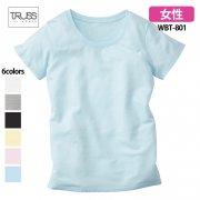 《レディース》4.4oz ウィンメンズ ベーシック 無地Tシャツ(TRUSS/トラス)[WBT-801]