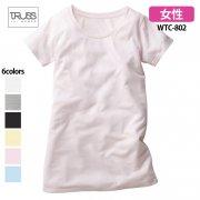 《レディース》4.4oz ウィンメンズ チュニック 無地Tシャツ(TRUSS/トラス)[WTC-802]
