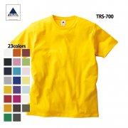 《150cmから展開》5.0oz ベーシックスタイル 無地Tシャツ(TRUSS/トラス)[TRS-700]