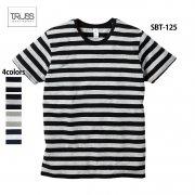 4.3oz ボーダーTシャツ(TRUSS/トラス)[SBT-125]