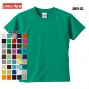 《キッズ》5.6oz ハイクオリティー Tシャツ(United Athle/ユナイテッドアスレ)