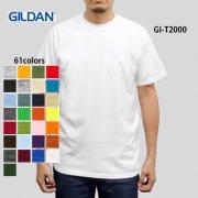 《ジュニアサイズから展開》6.0oz ウルトラコットンTシャツ(GILDAN/ギルダン)[T2000]