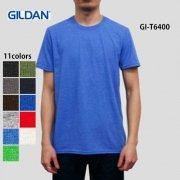4.5oz ソフトスタイル リングスパンTシャツ(GILDAN/ギルダン)[T6400]