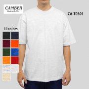 8.0oz マックスウェイト半袖Tシャツ(CAMBER/キャンバー)