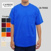 8.0oz マックスウェイト半袖ポケットTシャツ(CAMBER/キャンバー)