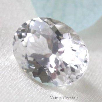 画像よりも美しい 天使の石 ロシア産 フェナカイト フェナサイト ルース 1.70ct  8.3mm  日独ソ付き