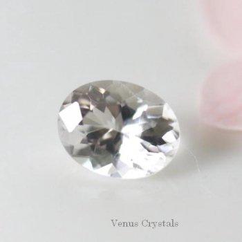 西日本最高峰の霊山 石鎚山産水晶 石鎚クオーツ ルース 0.59ct 6.3mm