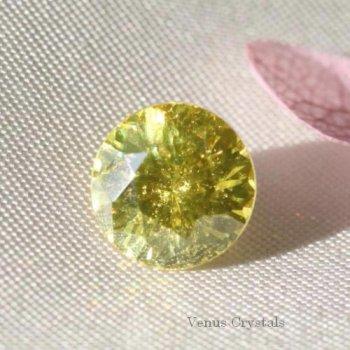 レア 美しい煌めき 中国産 レモンゴールド スファレライト ルース 1.05ct  5.9mm