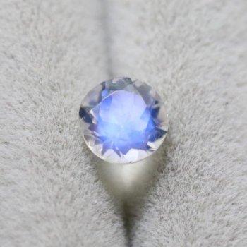 アンデシン ラブラドライト (ブルー) 0.43ct  4.9mm