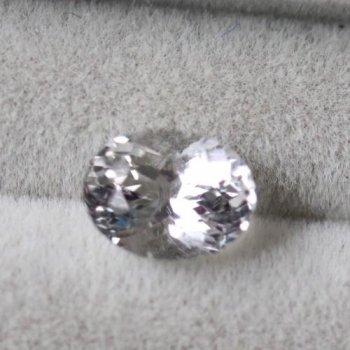 国産水晶 乙女水晶 美しいルース  0.80ct 6.7mm