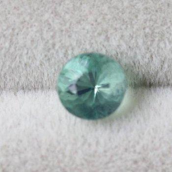 ダイアナマリア産 強蛍光 グリーン フローライト ルース 0.42ct  4.1mm