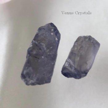 高品質 アイオライト  原石セット 大約16mm