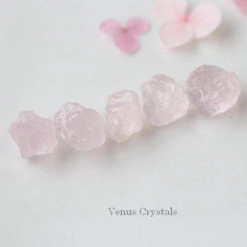 宝石質 マダガスカル産 ピンク ジラソル 原石 セット 各10mm前後