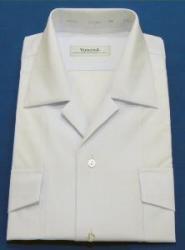 半袖開襟シャツ(両ポケ天蓋付き)