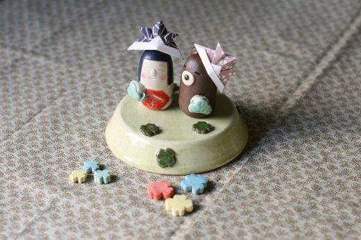 五月人形豆(クローバー畑)