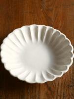 白花7寸皿