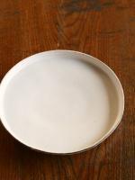 白丸盆7寸皿