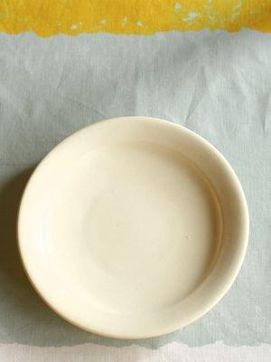 八寸平成平皿-アイボリー