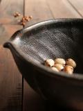 黒釉すり鉢6寸