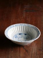 半菊文シノギ5寸鉢