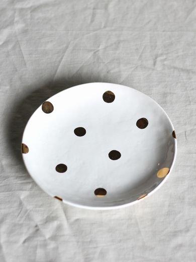 7寸皿-金