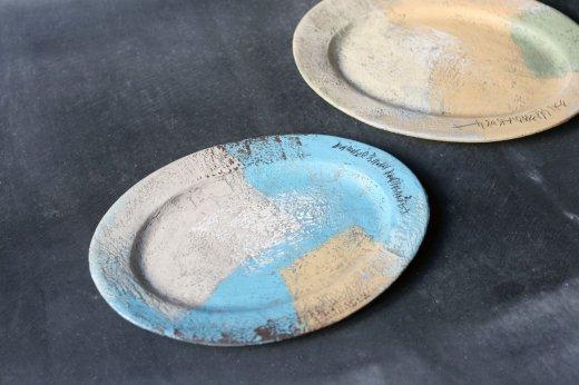 オーバル皿random