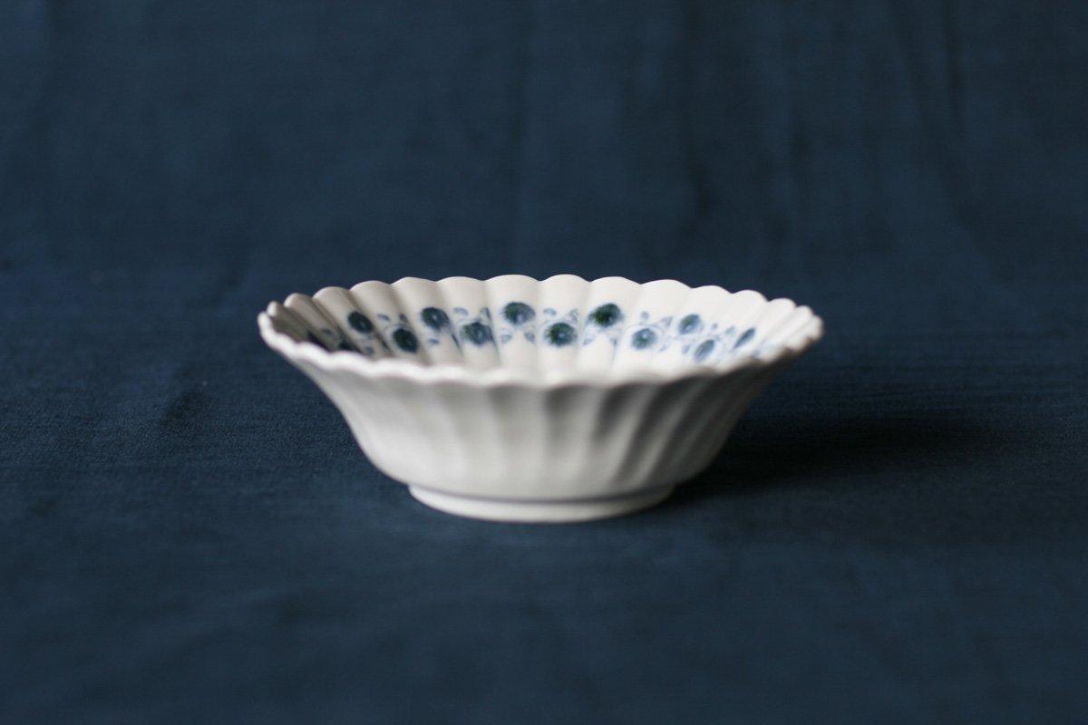 志村和晃 染付オランダ小鉢