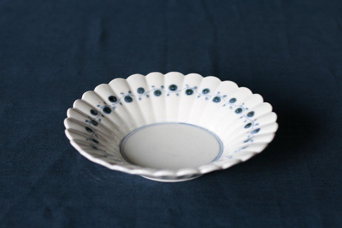 志村和晃 染付オランダ鉢